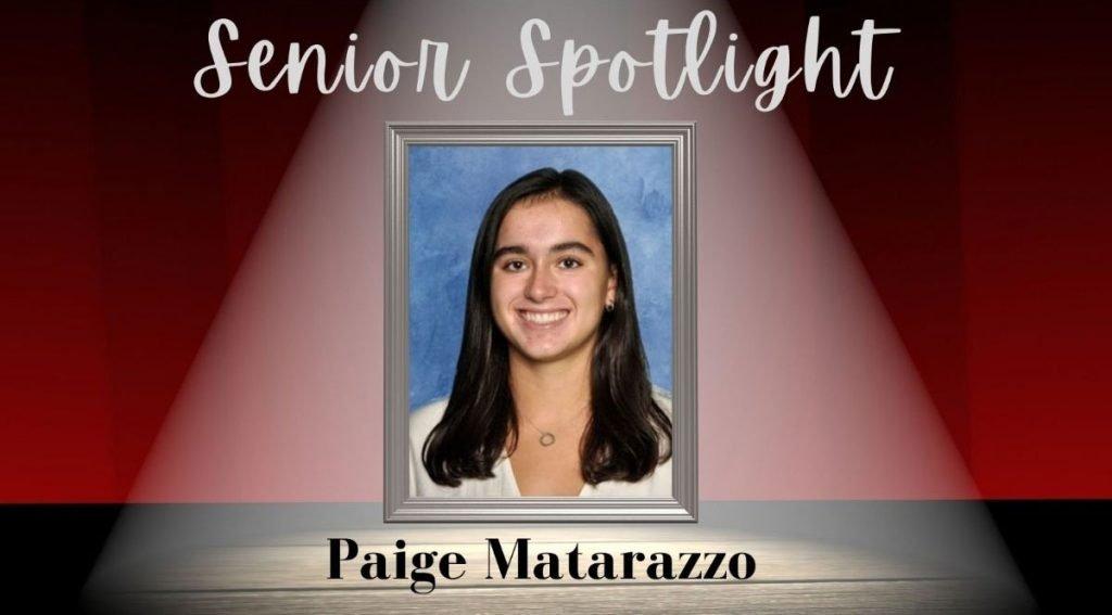 Garden City High School is shining its Senior Spotlight on Paige Matarazzo. (Courtesy Garden City School District)